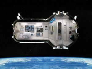 Космический отель. Проект